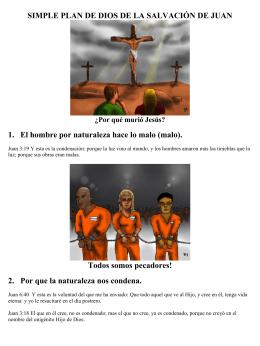 SIMPLE PLAN DE DIOS DE LA SALVACIÓN DE