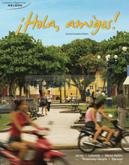 iHola, amigos!, Second Canadian Edition.