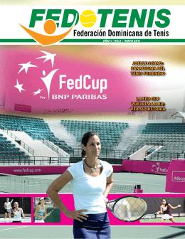 REVISTA FEDOTENIS Mayo 2011 - Federación Dominicana de Tenis