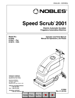 Speed Scrub 2001 Electirc_Nobles