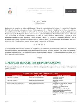 Anexo Técnico del Estado de Colima