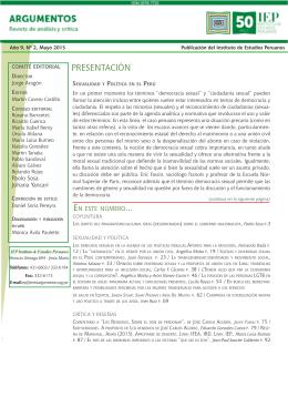 PRESENTACIÓN - Municipalidad Distrital de Morrope