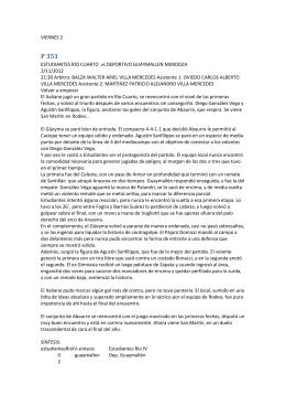 VIERNES 2 ESTUDIANTES RÍO CUARTO vs DEPORTIVO