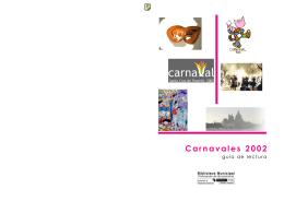 Carnavales 2002: guía de lectura : para niños y mayores