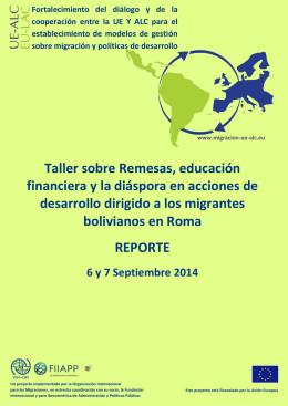 Reporte del taller - UE-ALC