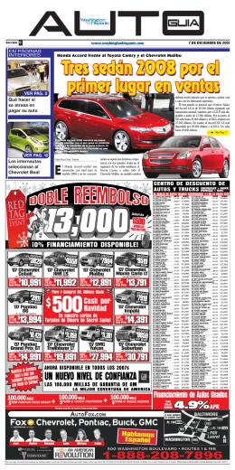Honda Accord frente al Toyota Camry y el Chevrolet Malibu