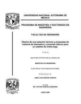 UNIVERSIDAD NACIONAL AUTÓNOMA DE MÉXICO PROGRAMA