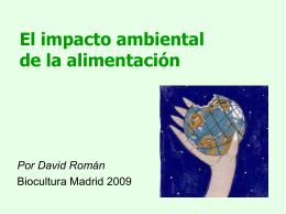 El impacto ambiental de la alimentación