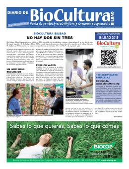 Diario de BioCultura. - Asociación Vida Sana