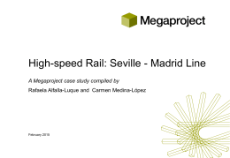 High-speed Rail: Seville - Madrid Line