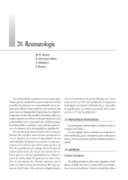 20. Reumatología - Sociedad Española de Farmacia Hospitalaria