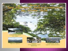 tema 2 Las regiones socioeconómicas de Costa Rica