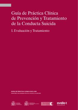 GPC de Prevención y Tratamiento de la Conducta Suicida. I