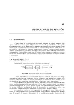 REGULADORES DE TENSIÓN