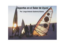 Deportes en el Salar de Uyuni