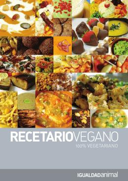 Recetario vegano 2006