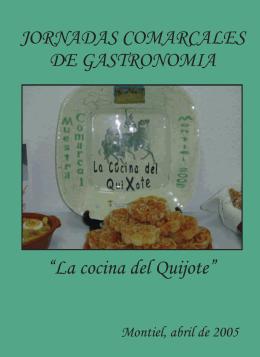 La cocina del Quijote - Diputación Provincial de Ciudad Real