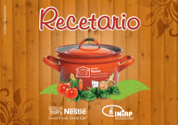 RECETARIO INIAP-NESTLÉ 2010 documento
