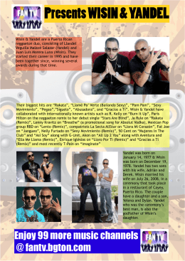 Wisin & Yandel FAN TV