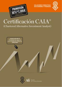 Certificación CAIA®