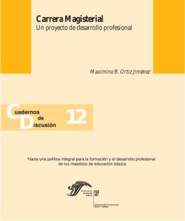 Carrera Magisterial - Subsecretaría de Educación Básica