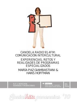 CANDELA RADIO 91.4FM: COMUNICACIÓN INTERCULTURAL