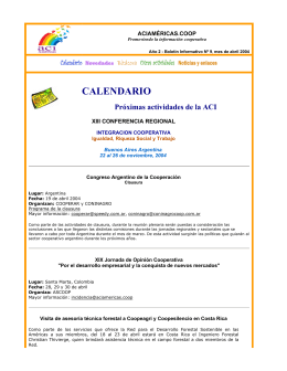 Boletín N° 09 - Abril de 2004