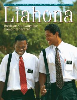 Marzo de 2007 Liahona