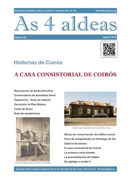 A CASA CONSISTORIAL DE COIRÓS