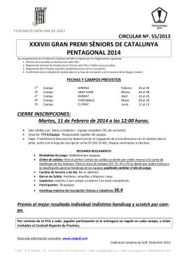 xxxviii gran premi sèniors de catalunya pentagonal 2014