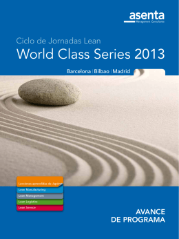 World Class Series 2013