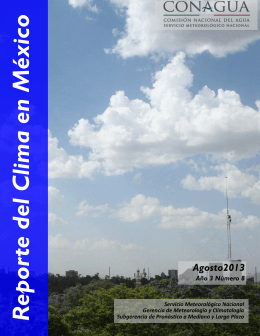 Reporte del Clima en México - Servicio Meteorológico Nacional