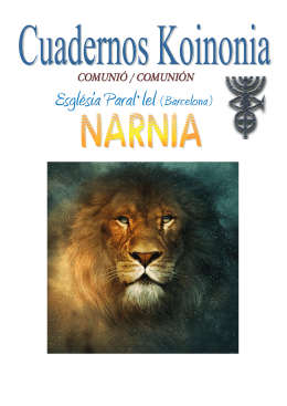 Narnia - Nos hemos trasladado