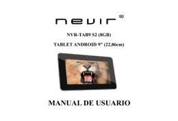 NVR-TAB9 S2 (8GB)
