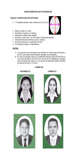Instructivo de Fotografías - Servicios Escolares FO UNAM