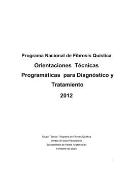 Guia Clinica FQ 2012 - Ministerio de Salud