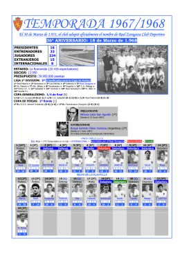 1967-1968 - Aupa Zaragoza
