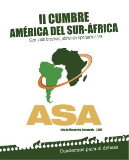 II CUMBRE AMÉRICA DEL SUR-ÁFRICA ASA 2009