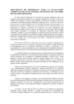 Valverde de Leganés - Extremambiente