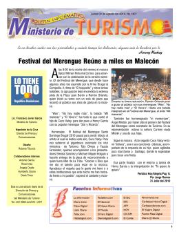 Boletín Informativo 2-08-2010