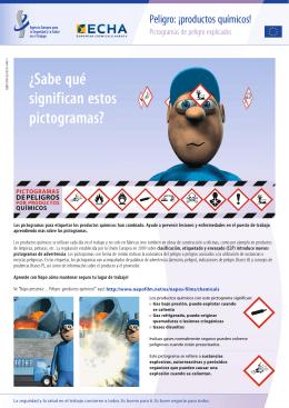 Peligro: ¡productos químicos! Pictogramas de - ECHA
