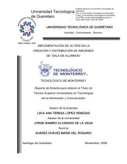 Universidad Tecnologica de Queretaro