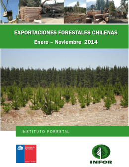 Noviembre 2014 - Estadisticas Forestales