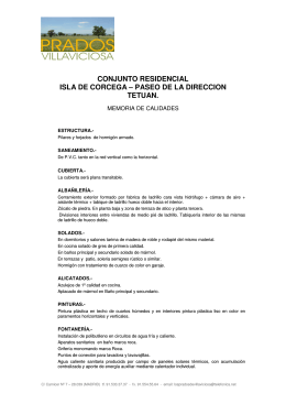 CONJUNTO RESIDENCIAL ISLA DE CORCEGA