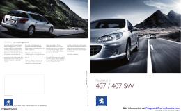 Catálogo del Peugeot 407