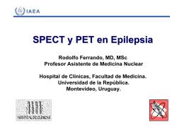 SPECT y PET en epilepsia