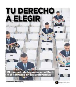 El mercado de la prensa en el Perú y el liderazgo en las