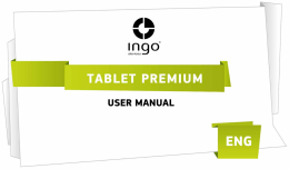 USER MANUAL - Ingo Devices