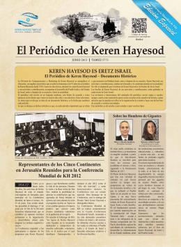 El Periódico de Keren Hayesod