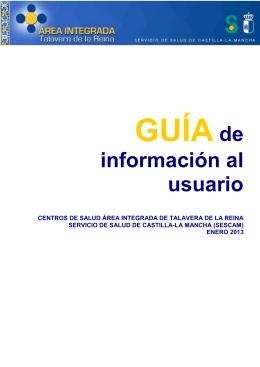 Manual información usuario Atención Primaria 2013